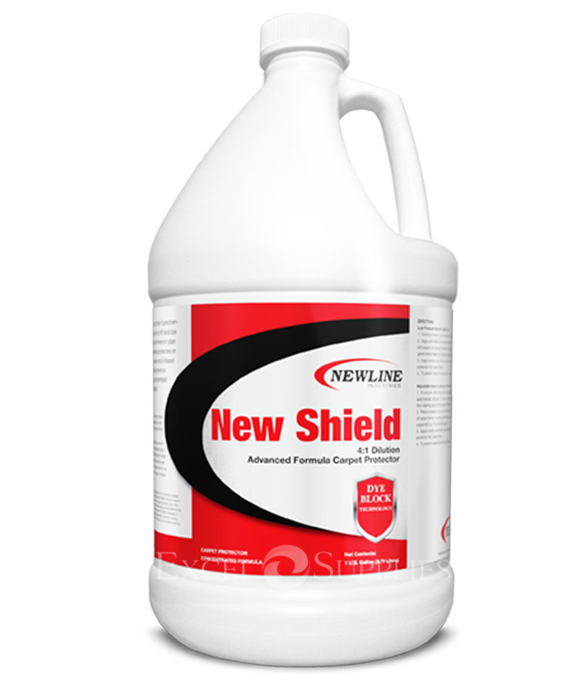 New Shield (Gallon) by Newline | Premium Carpet Protector with Acid Dye Blocker NI-NSH