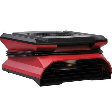 Phoenix AirMax Radial Air Mover - Low Profile - RED