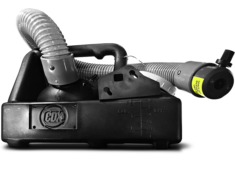 """ULV Fogger w/ 18"""" Hose (Wet, for water based chemicals) by Clean Dynamix BG-CDX-ULV"""