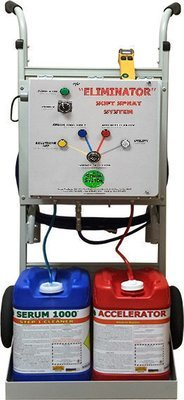 Eliminator Chemical System by Serum Systems - Machine Only, Chemicals Sold Separately