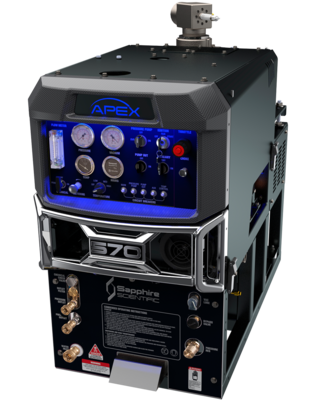 APEX 570 with 90gl Waste Tank by Sapphire Scientific