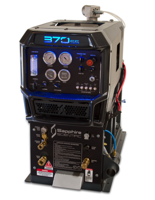 370ss  with 90 gl Waste Tank by Sapphire Scientific