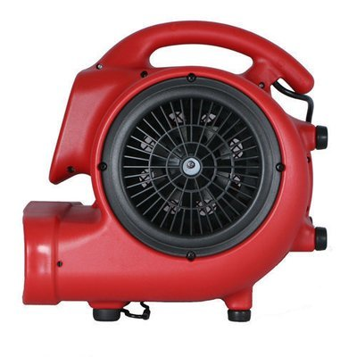 X400A 1/4HP Airmover by Xpower (Red)