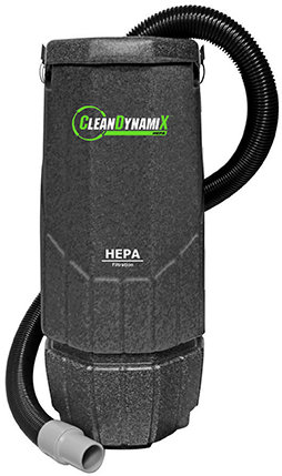 10qt HEPA Backpack (with Tools) by Clean DynamiX SAN-203001-NSN