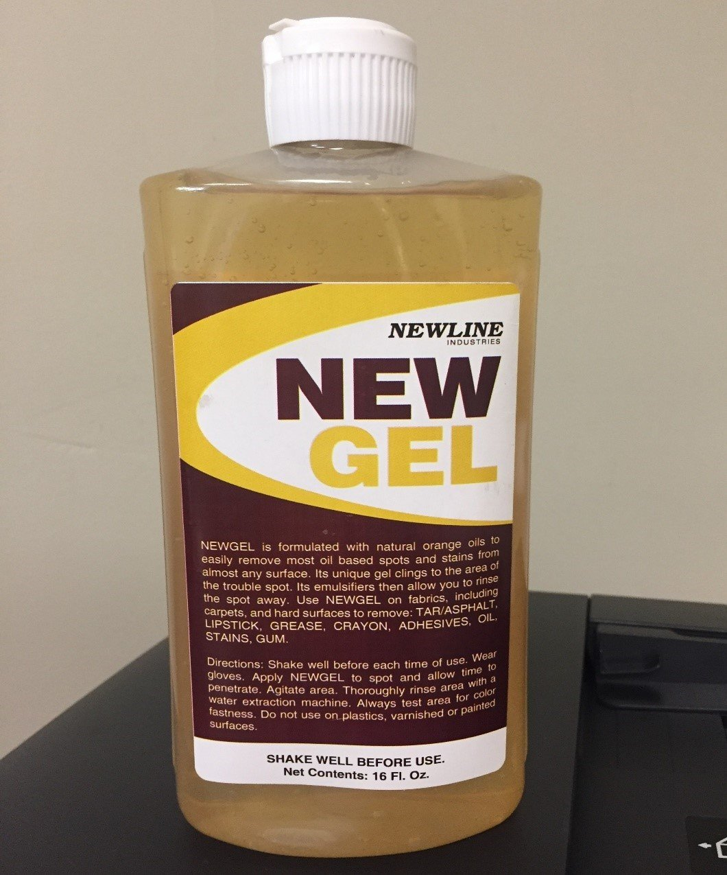 New Gel (Pint) by Newline | Natural Orange Spot and Stain Remover NI-NG