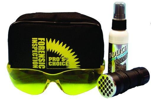 Forensic Kit (Glasses, UV Light and Spray) by CTI Pro's Choice | Urine Detection Kit