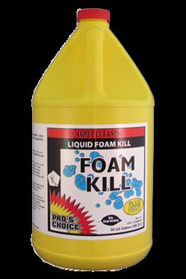 Foam Kill (Gallon) by CTI Pro's Choice | Super Concentrated Defoamer