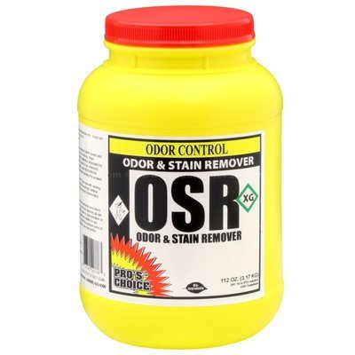 OSR (6 lb. Jar) by CTI Pro's Choice | Odor and Stain Remover Powder