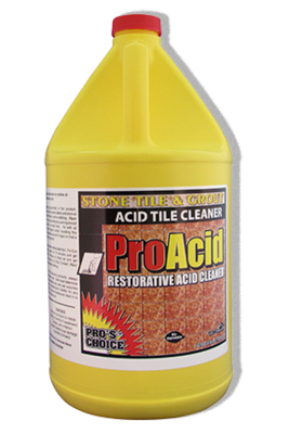 Pro Acid (Gallon) by CTI Pro's Choice | Ceramic Tile and Grout Cleaner