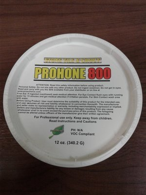 Pro Hone 800 (12 oz.) by CTI Pro's Choice | Marble and Travertine Honer