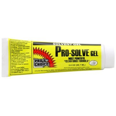 Pro-Solve Gel (3 oz. Tube) by CTI Pro's Choice | Solvent Spot Remover