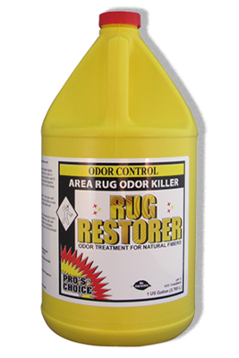 Rug Restorer (Gallon) by CTI Pro's Choice | Area Rug Oder Killer