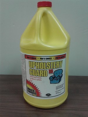 Upholstery Guard SS (Gallon) by CTI Pro's Choice | Solvent Based Upholstery Protector