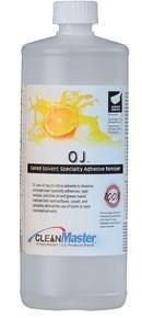 OJ Orange Gel (Quart) by HydraMaster | Natural Citrus Solvent Gel HM-OJ