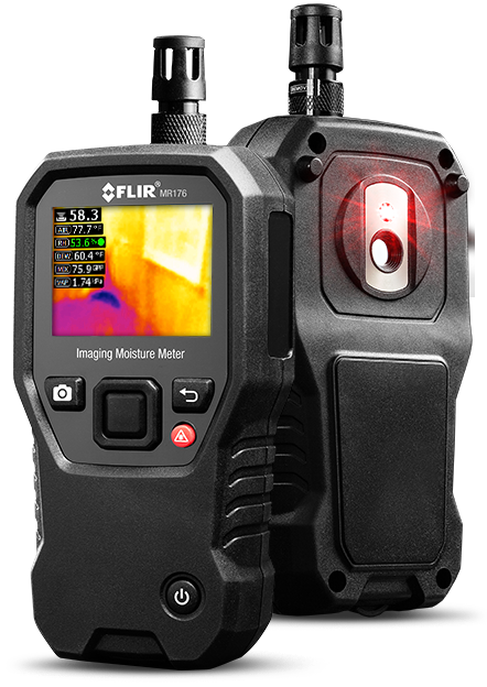FLIR MR176 IGM Moisture Meter with Replaceable Hygrometer