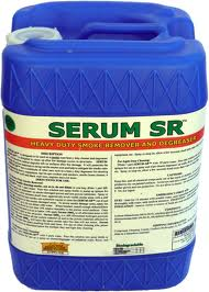 Serum SR (5gal. Jug) by Serum Systems - Soot and Smoke Remover