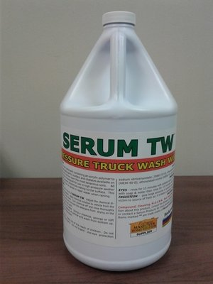 Serum TW (Gallon) by Serum Systems - Truck Wash with Polymer Wax