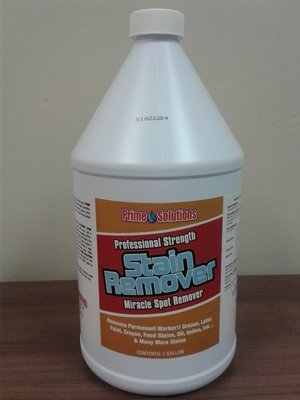 Stain Remover (Gallon) by Prime Solutions - Premium Strength Miracle Spot Remover