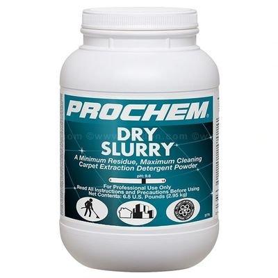 Dry Slurry (6.5 lb. Jar) by ProChem   Carpet Extraction Detergent Powder