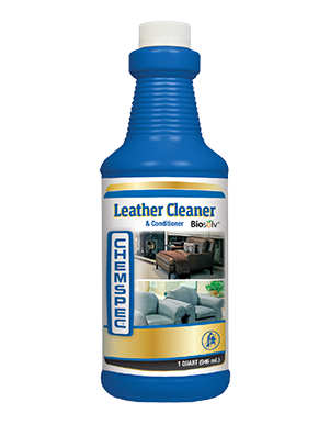 Leather Cleaner and Conditioner (Quart) by ChemSpec | RTU Leather Cleaner