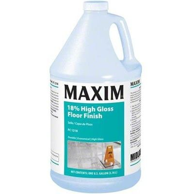 MAXIM 18% High Gloss Floor Finish (Gallon) by MidLab | VCT Wax