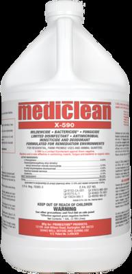 MediClean (Microban) X-590 Institutional Spray, Gl