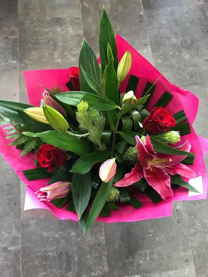 Oriental & Rose Bouquet 00004