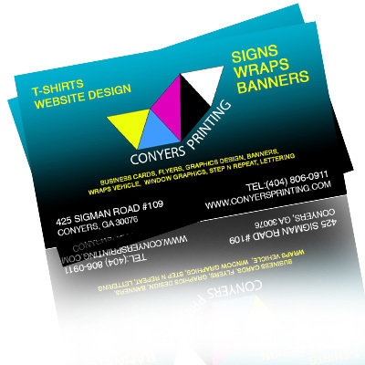 UV Coated Business Cards 20129