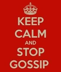 Stop Gossip About You