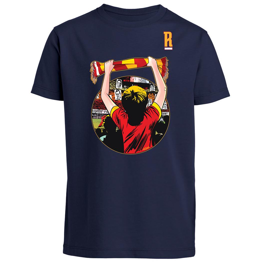 """T-shirt """"Un amore infinito"""" - Baby - """"Il Romanista"""""""