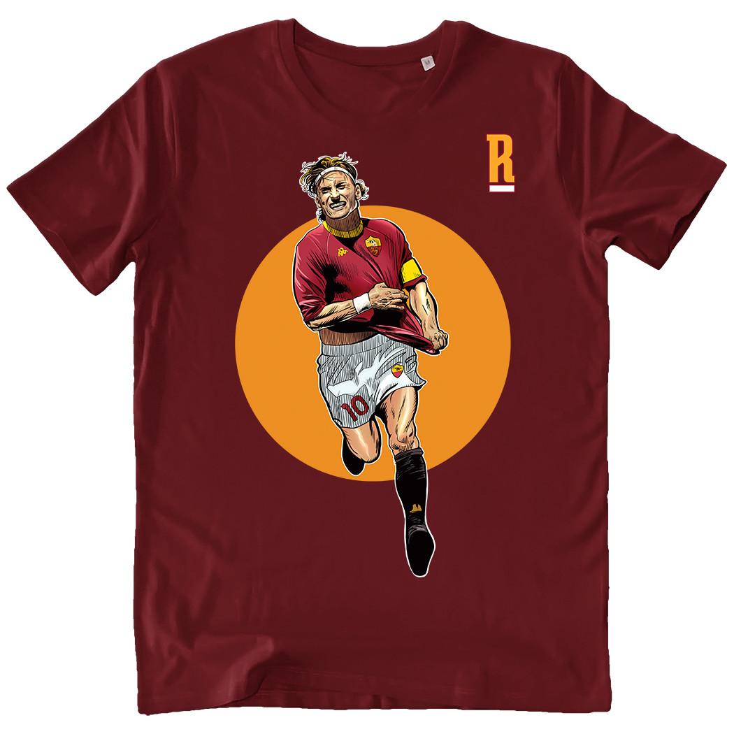 T-shirt Totti uomo