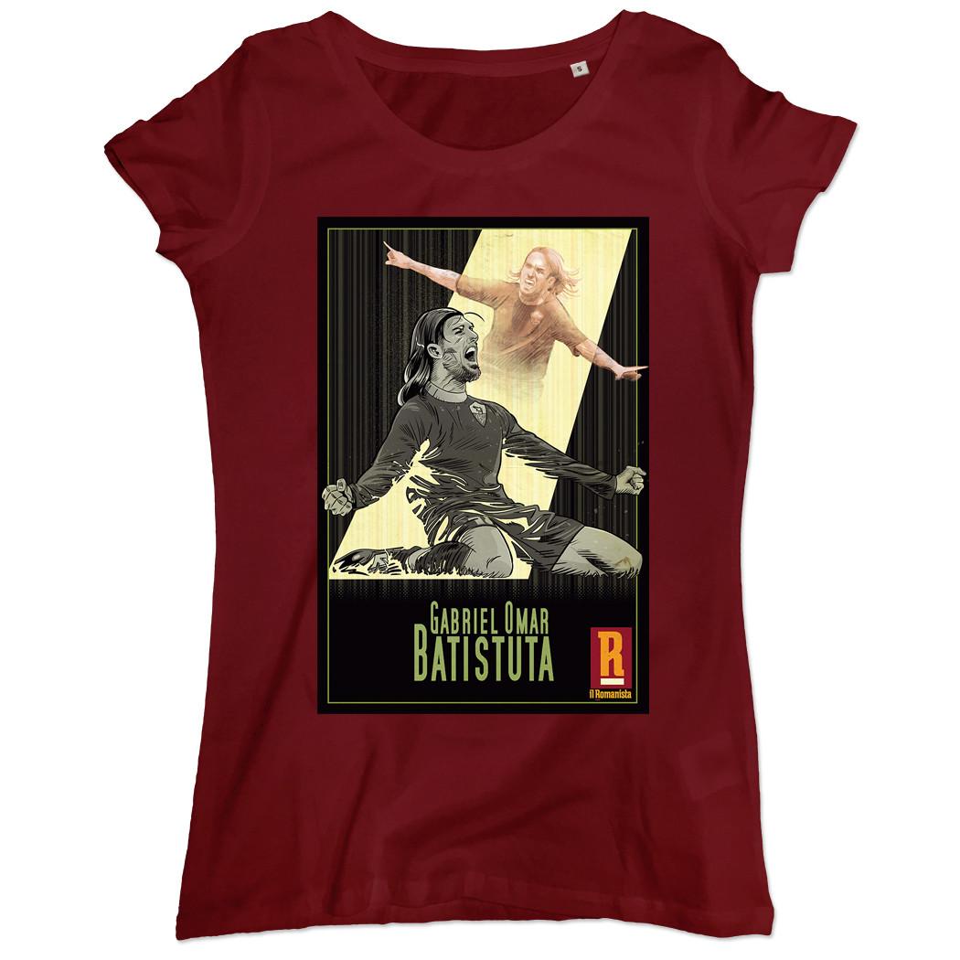 T-shirt Batistuta donna