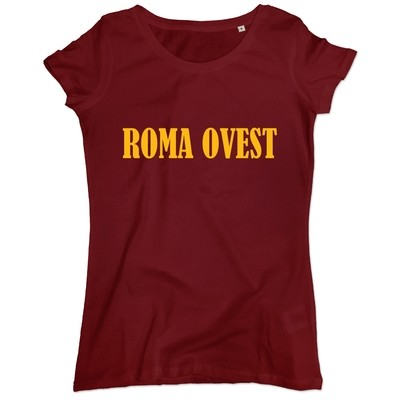 T-shirt Roma Ovest donna