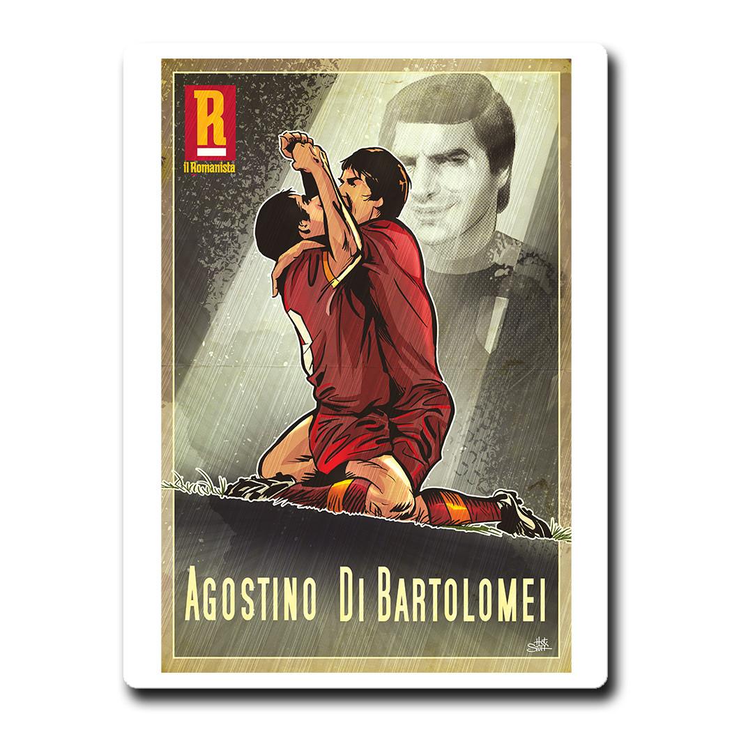 """Magnete Agostino Di Bartolomei - """"Il Romanista"""""""