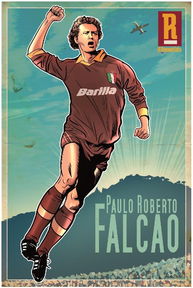 MAXI-POSTER Falcao - 70x100 cm