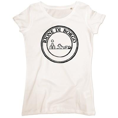 T-shirt Rione Borgo - Donna
