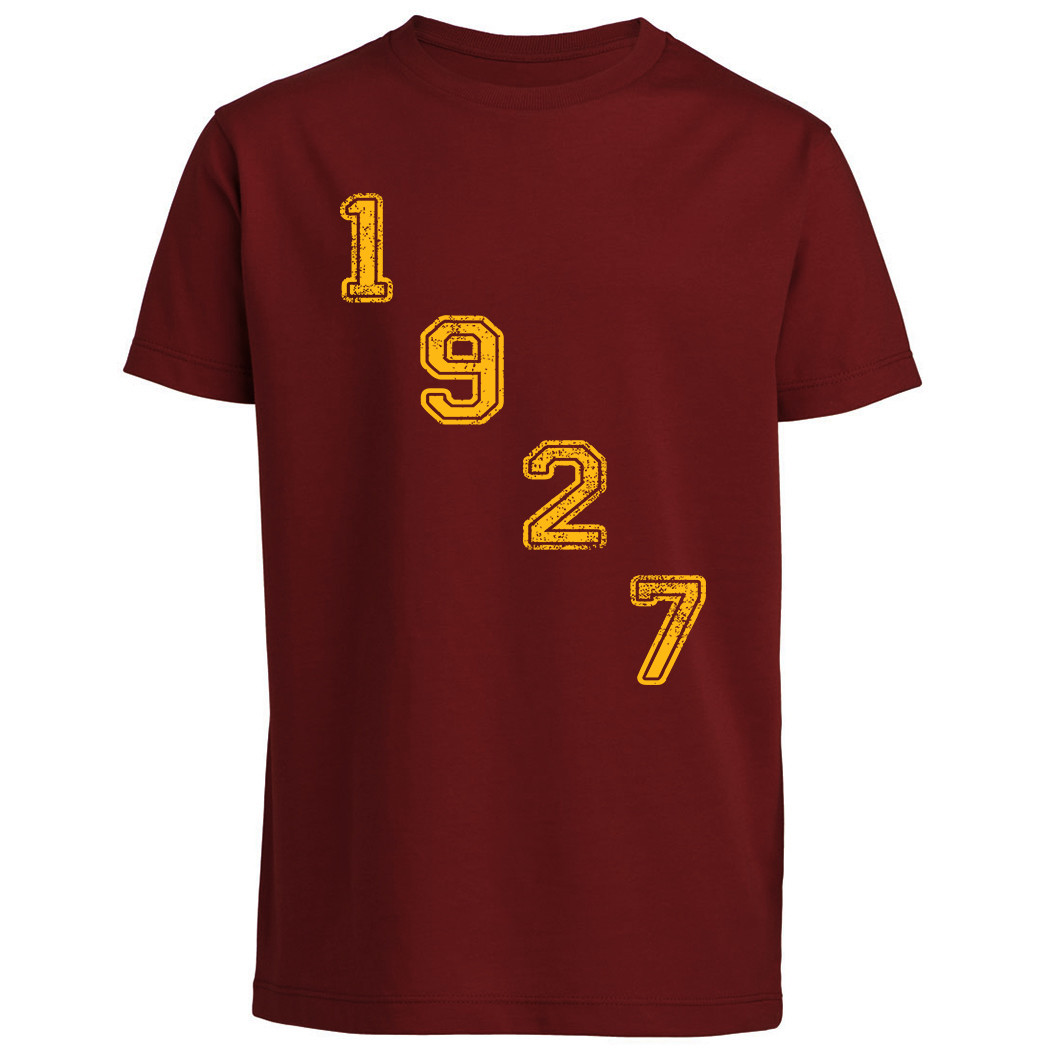 T-shirt 1927 - Baby - Scritta diagonale