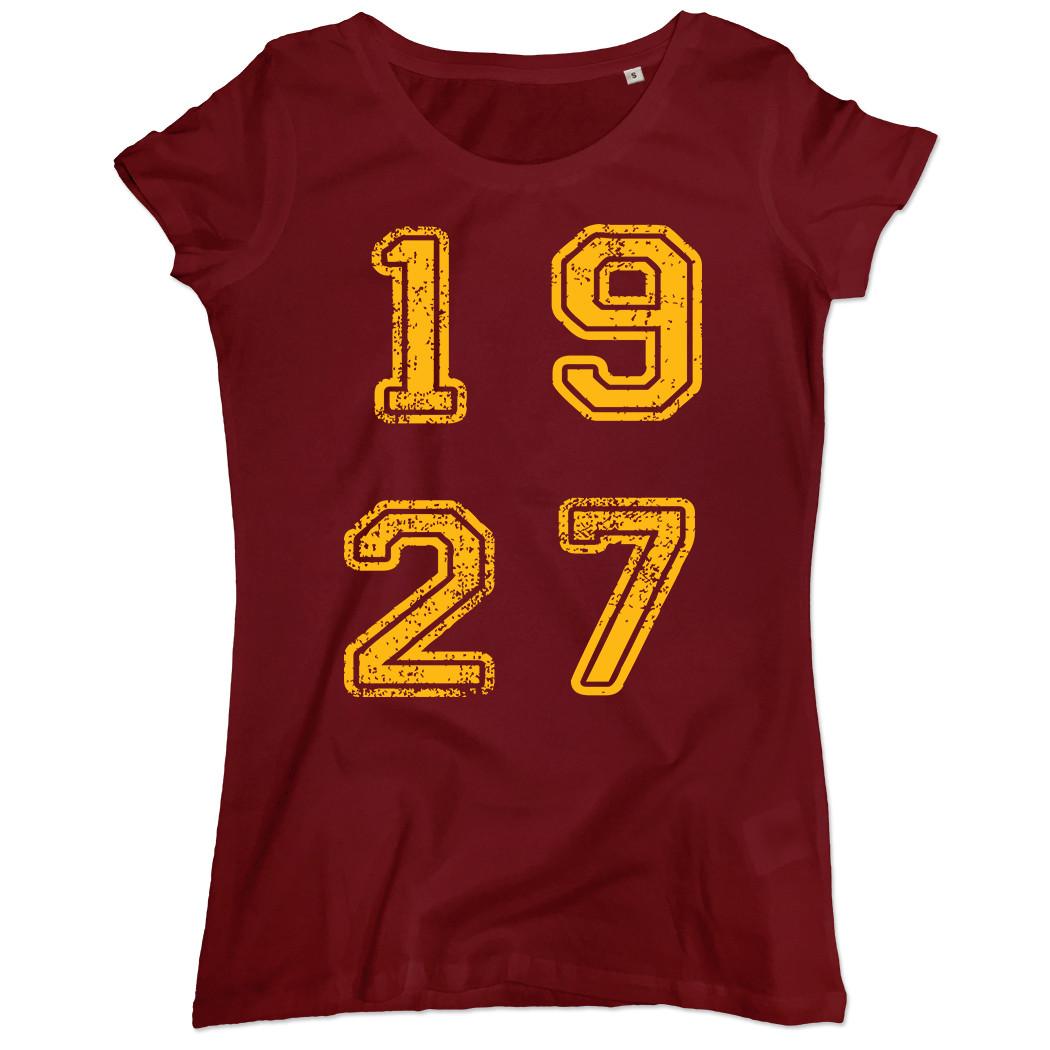 T-shirt 1927 - Donna - Scritta quadrata