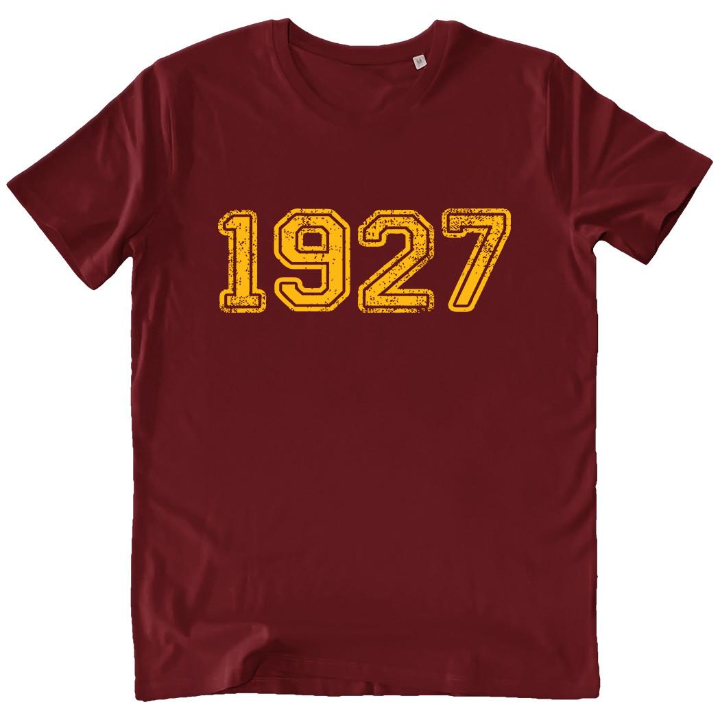 T-shirt 1927 - Uomo - Scritta centrale