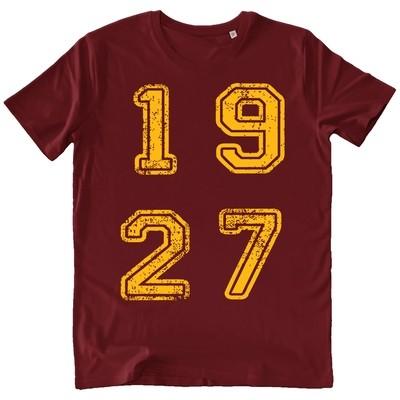 T-shirt 1927 - Uomo - Scritta quadrata