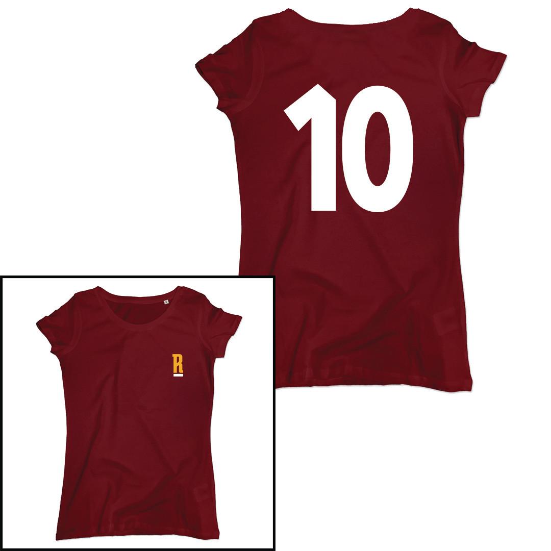 T-shirt Numero 10 - Totti - Donna