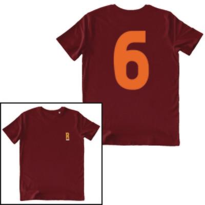 T-shirt Numero 6 - Aldair - Uomo