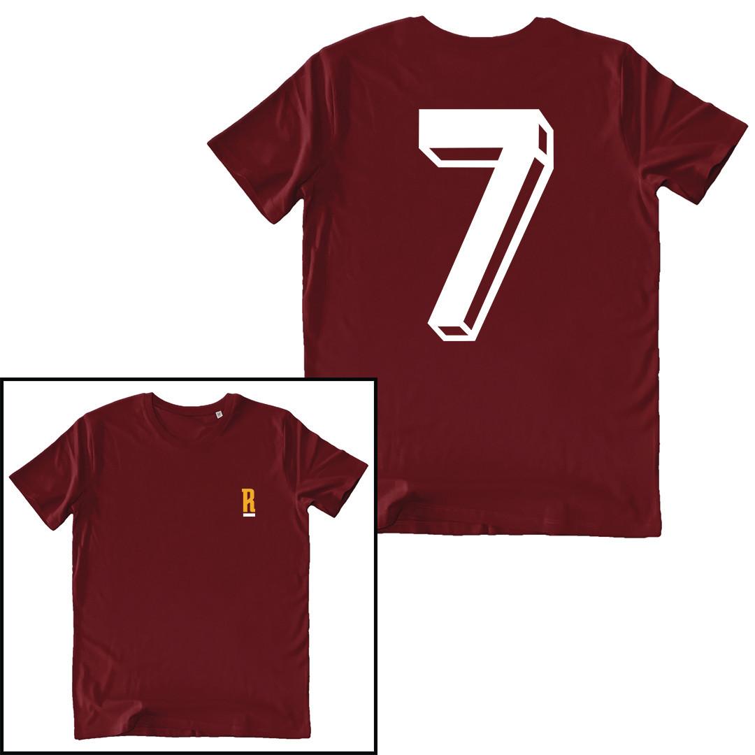 T-shirt Numero 7 - Conti - Uomo