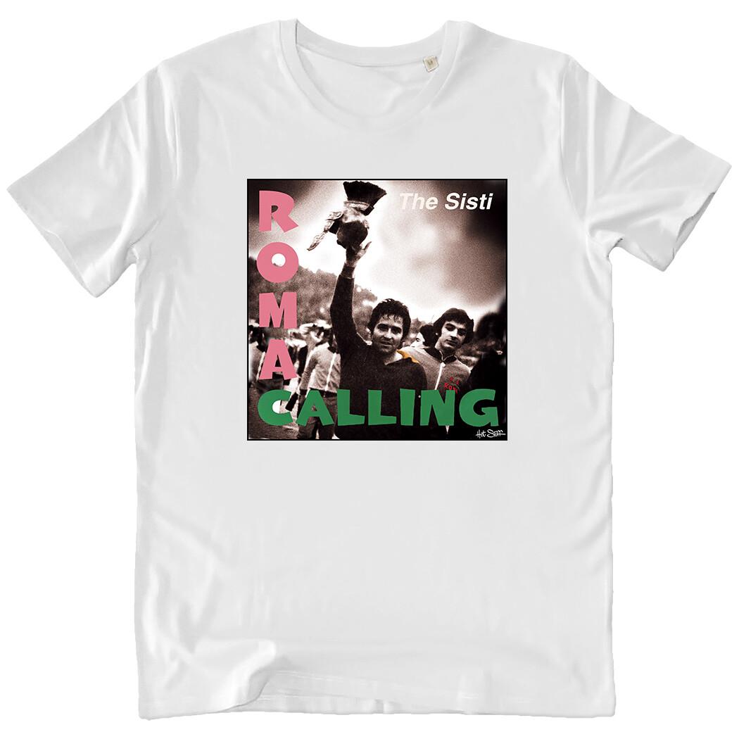"T-shirt ""Rock Romanista"" De Sisti/The Clash - Uomo"