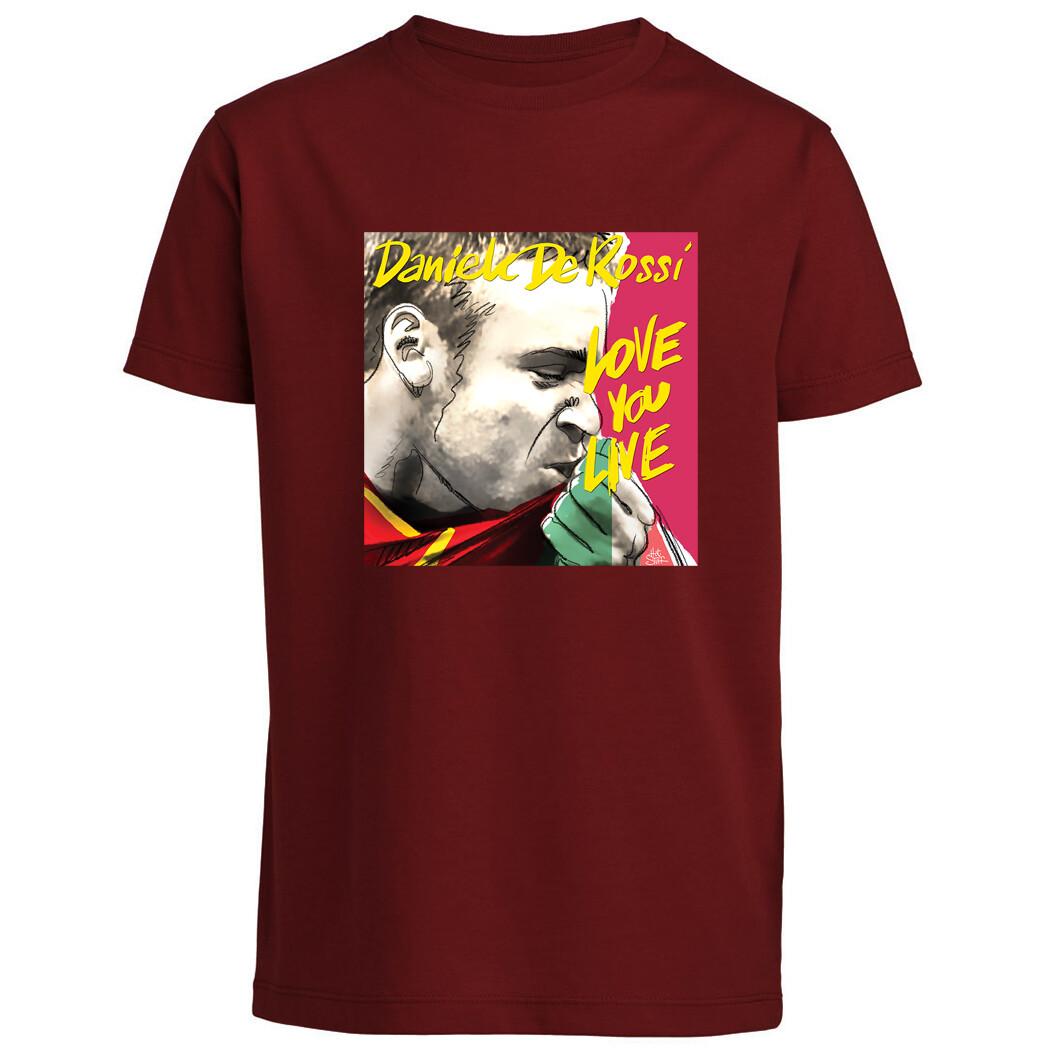 """T-shirt """"Rock Romanista"""" De Rossi/Rolling Stones - Baby"""