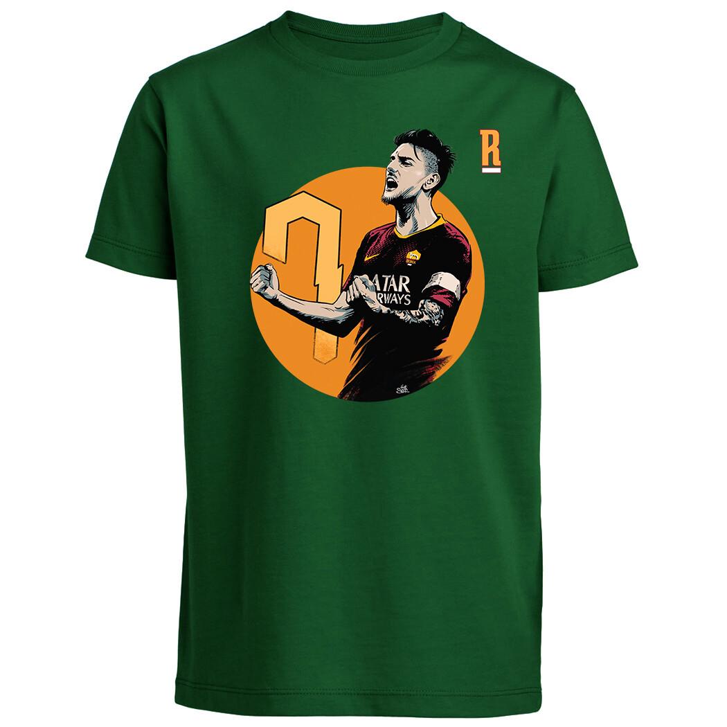 T-shirt Lorenzo Pellegrini -baby- Il Romanista