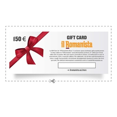 Gift Card Il Romanista 150€