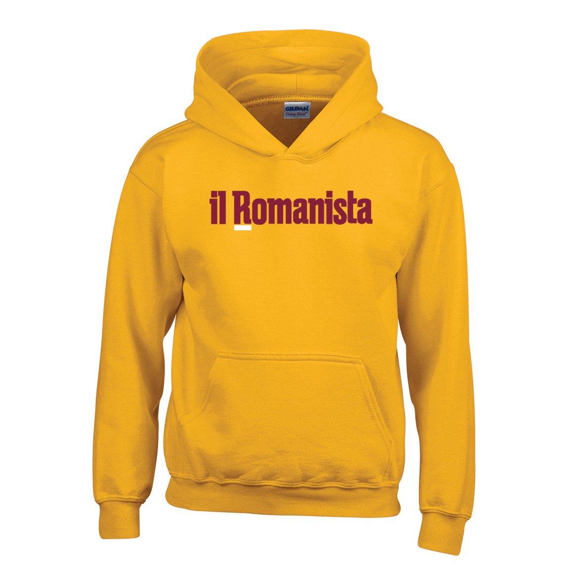 """Felpa testata """"Il Romanista"""" baby"""