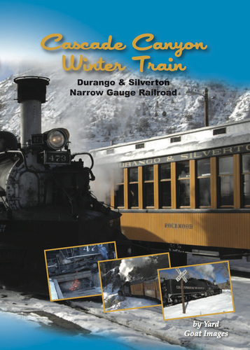 Cascade Canyon Winter Train - Durango & Silverton Narrow Gauge Railroad 1308