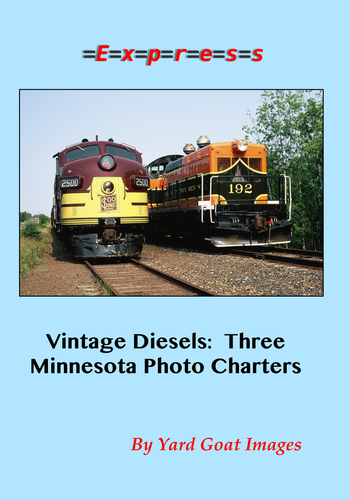 Vintage Diesels: Three Minnesota Photo Charters EXPRESS 1451